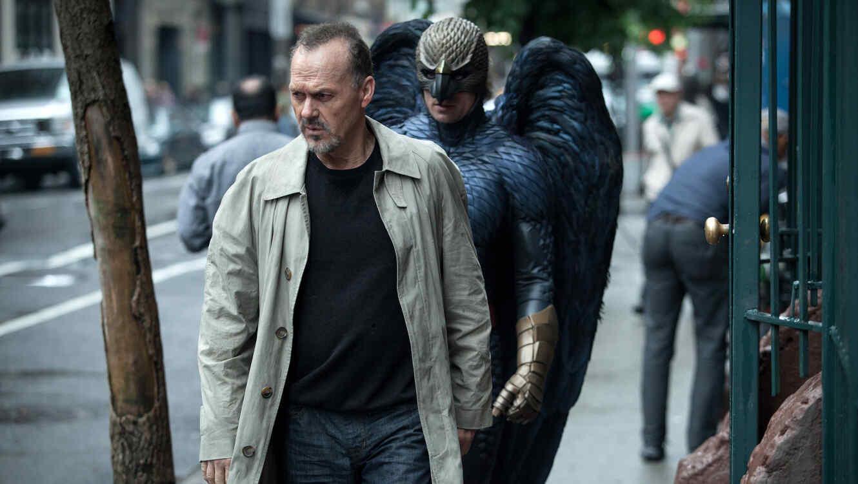 """Michael Keaton como Riggan en una escena de """"Birdman""""."""