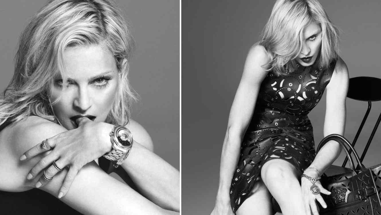 Madonna vestida de Versace