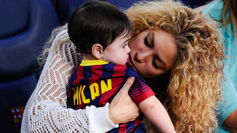 Shakira saca su vena 'autoritaria' con su hijo Milan
