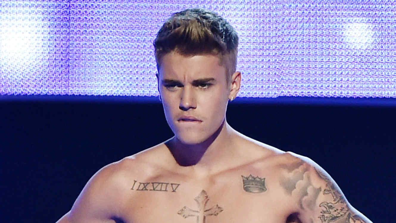 Justin Bieber Three Lions Entertainment Presents Fashion Rocks 2014 - Show