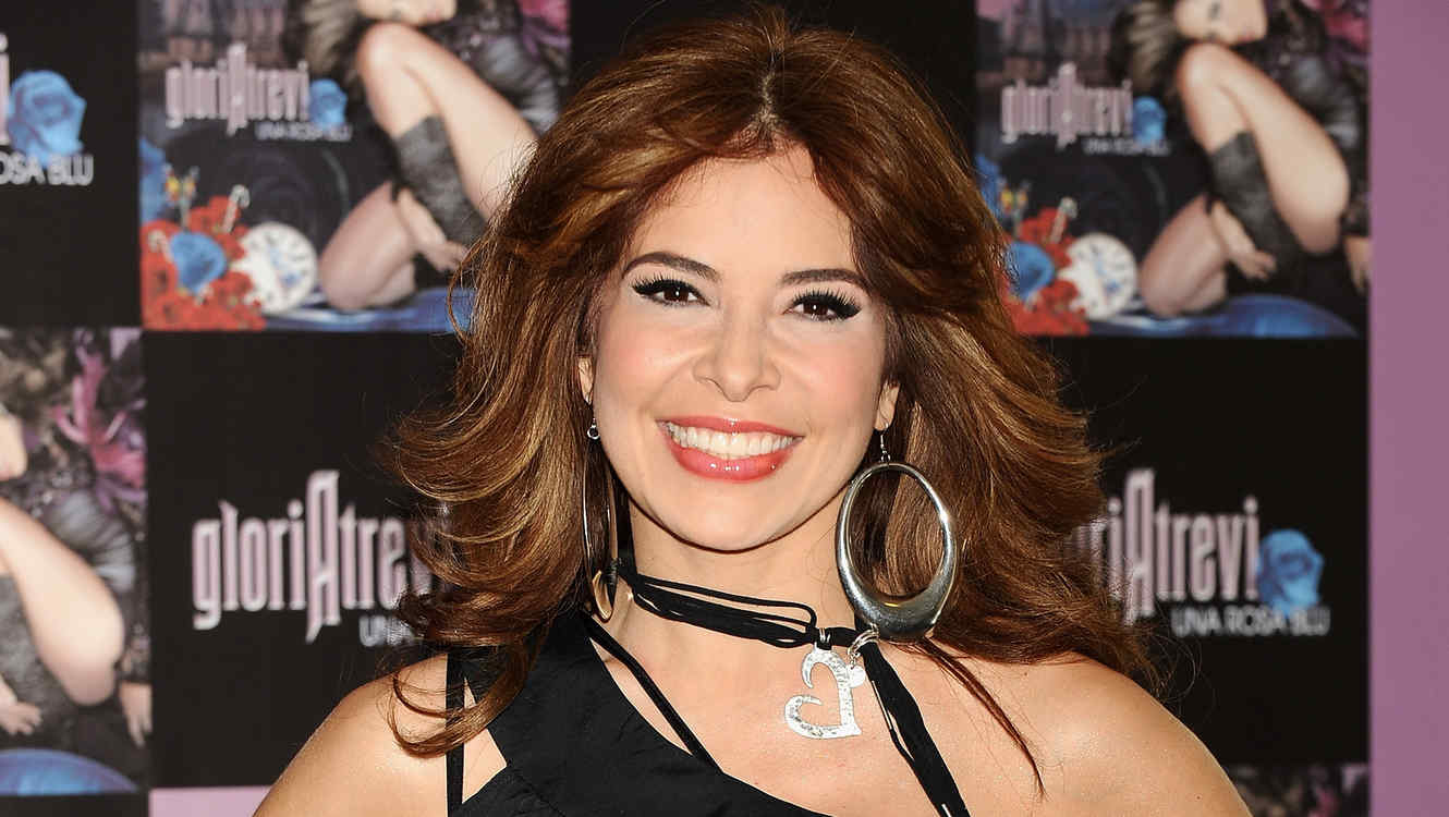 "Gloria Trevi Presents Her New Album ""Una Rosa Blu"""