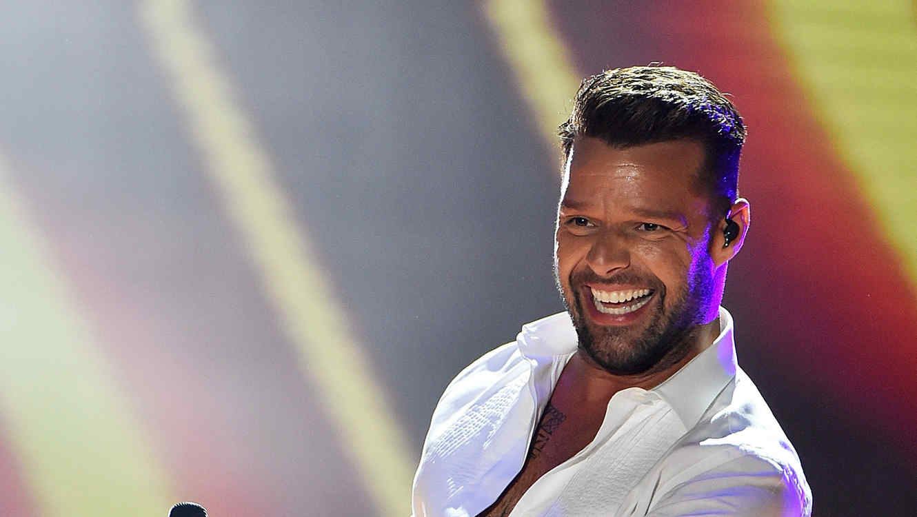 Ricky Martin en el World Music Awards 2014