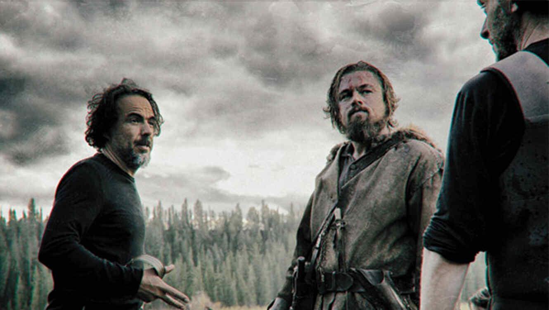 "Leonardo DiCacaprio en la cinta de Iñárritu, ""The Revenant"""