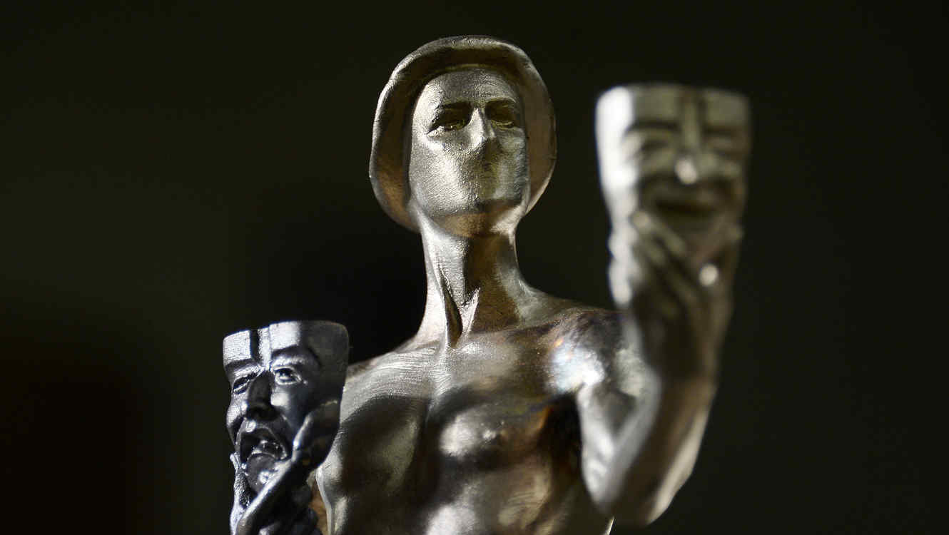 20th Annual SAG Awards Casting Of The Actor, The Screen Actors Guild Awards Statuette