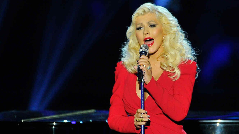 Christina Aguilera en los premios Breakthrough