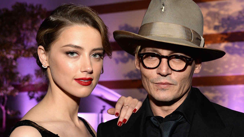 Johnny Depp y Amber Heard se casaron en Los Ángeles