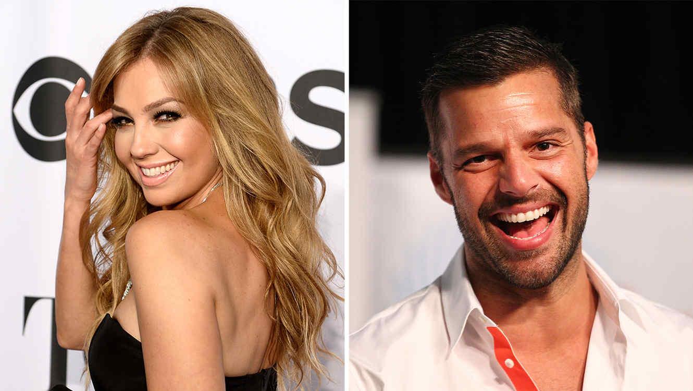 """Thalía y Ricky Martin serán los villanos en la nueva película de los """"Minions"""" ."""