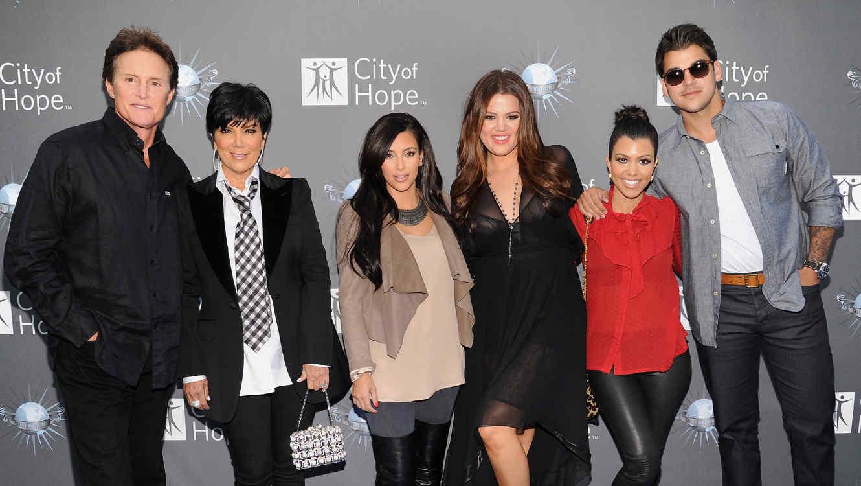 Bruce Jenner y Kardashians
