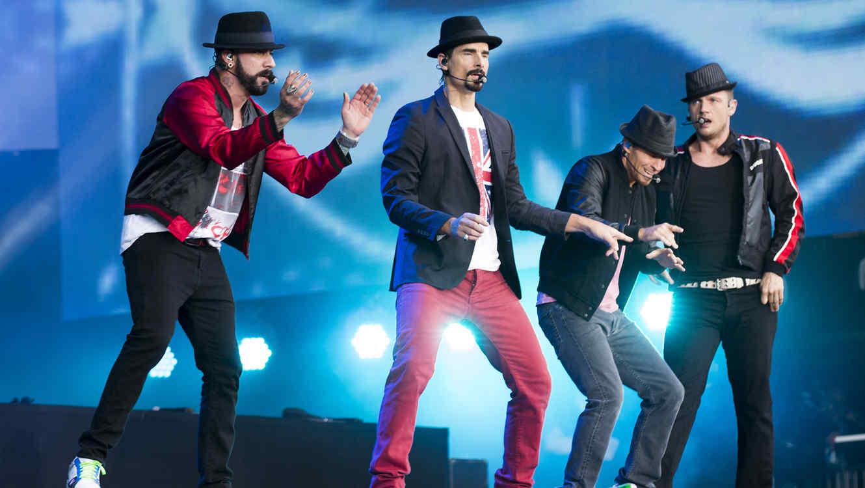 Backstreet Boys en el tour del verano del 2014