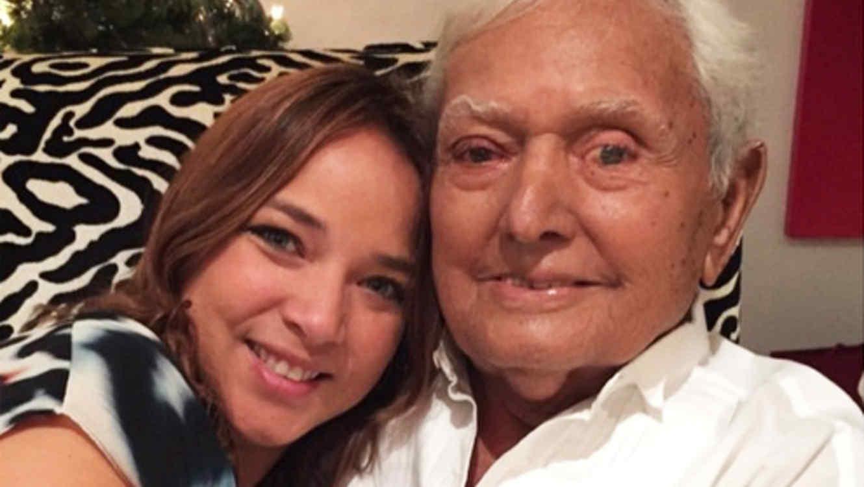 Adamari López con su padre