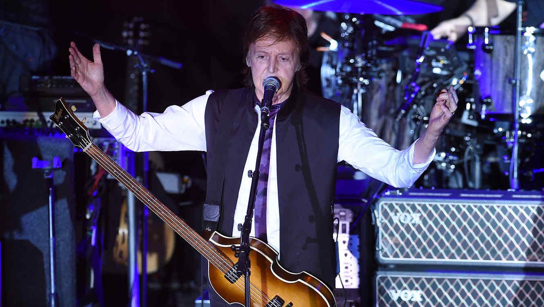 Paul McCartney en concierto en Nueva York