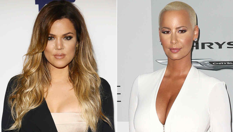 Khloé Kardashian y Amber Rose