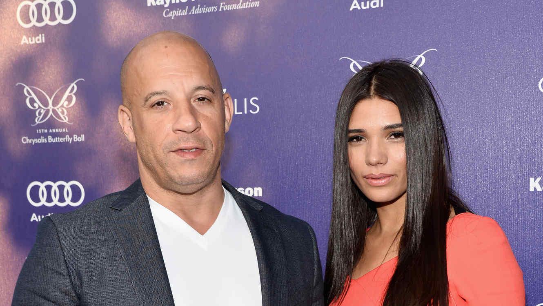"""Vin Diesel de """"Furious 7"""" y Paloma Jiménez."""