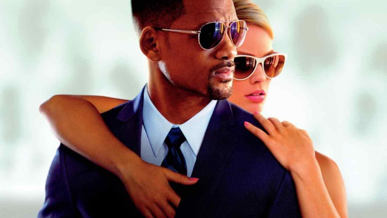 """Póster de la película 'Focus"""" con Will Smith y Margot Robbie"""