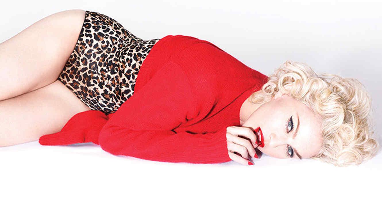 "Foto promocional de Madonna para su gira ""Rebel Heart"""