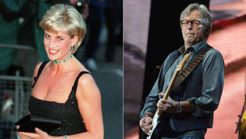 Princesa Diana y Eric Clapton