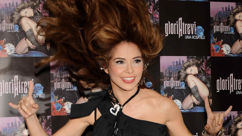 "Gloria Trevi Album ""Una Rosa Blum"" en 2009"
