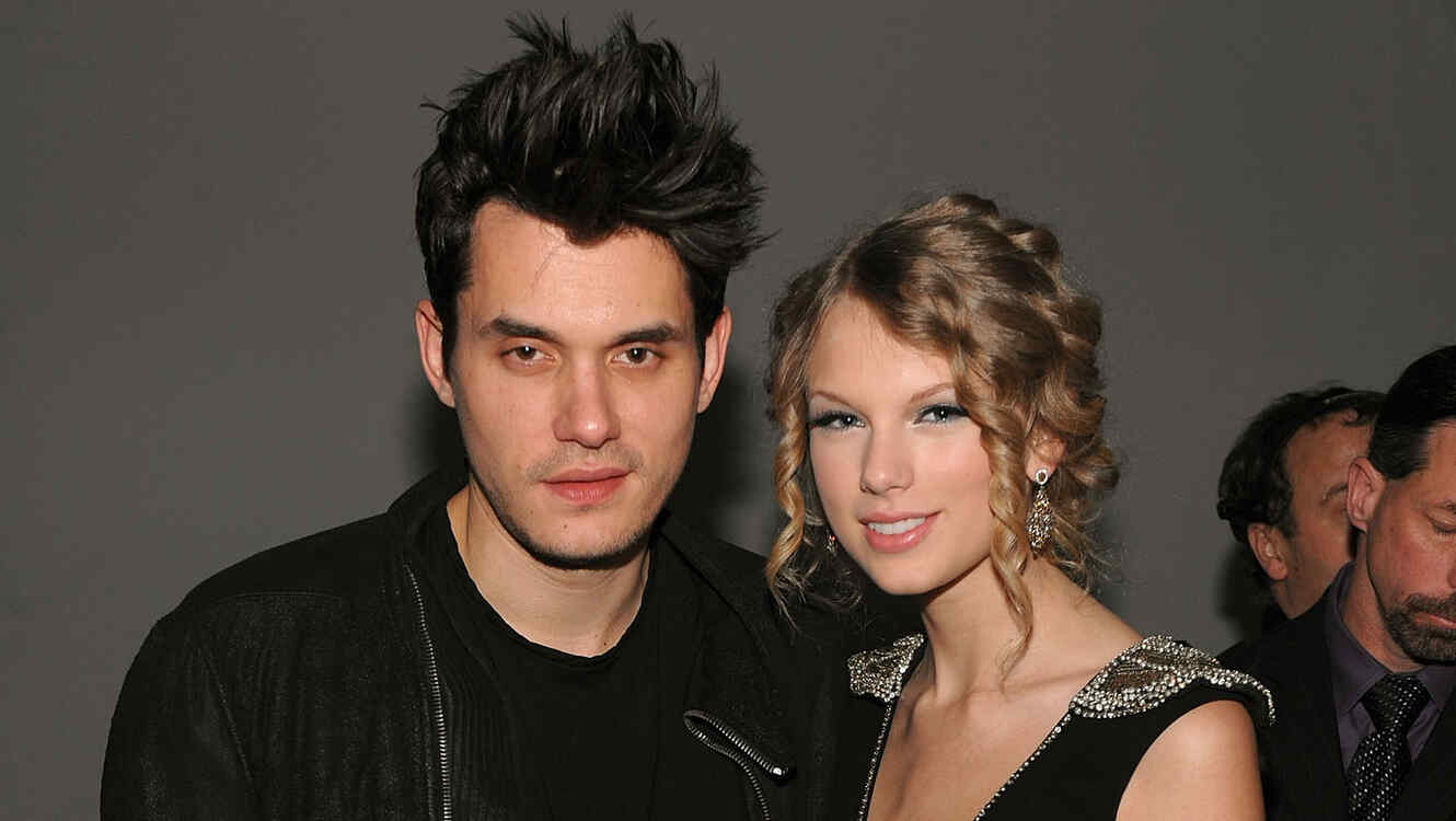 John Mayer y Taylor Swift asisten al lanzamiento deVEVO destination for premium music en el 2009
