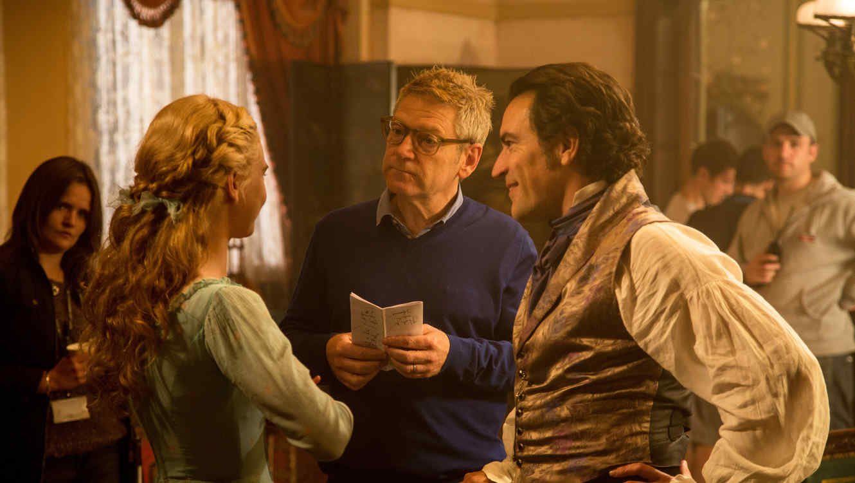 Kenneth Branagh el director de Cenicienta.