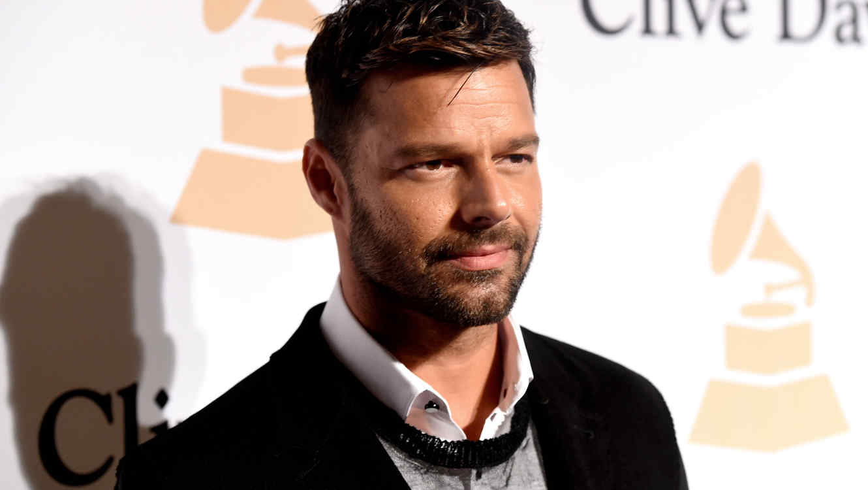 Ricky Martin en un evento de 2015