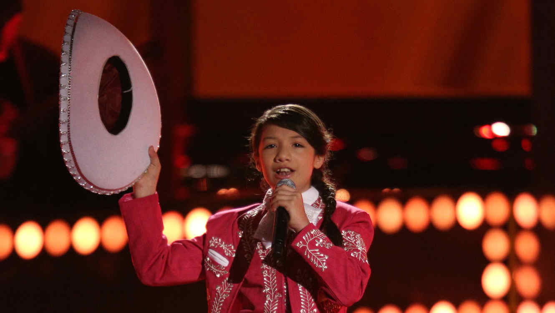 Ashley Acosta, audiciones, la voz kids