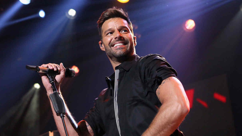 Ricky Martin en festival iHeart Radio en 2015