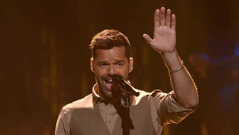 Ricky Martin en un evento en 2015