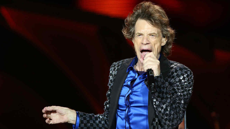 Mick Jagger de los Rolling Stones en 2014