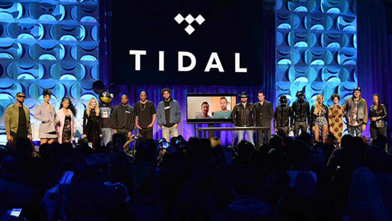 Presentación de Tidal nuevo servicio de música de Jay Z