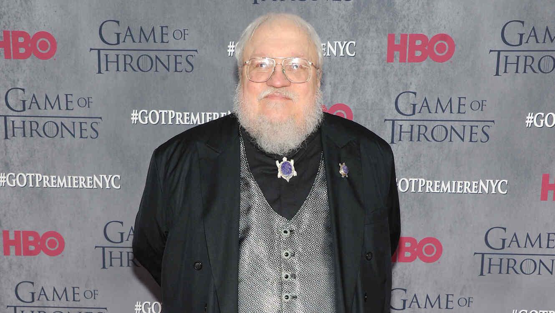 """George R.R. Martin en el estreno de la cuarta temporada de """"Game of Thrones"""""""