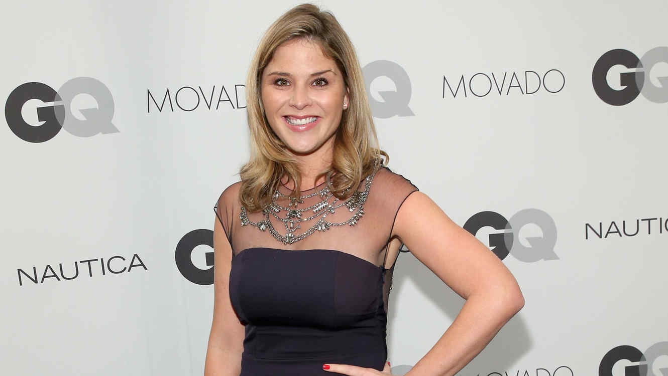 Jenna Bush en GQ Gentlemen's Ball 2014 en Nueva York