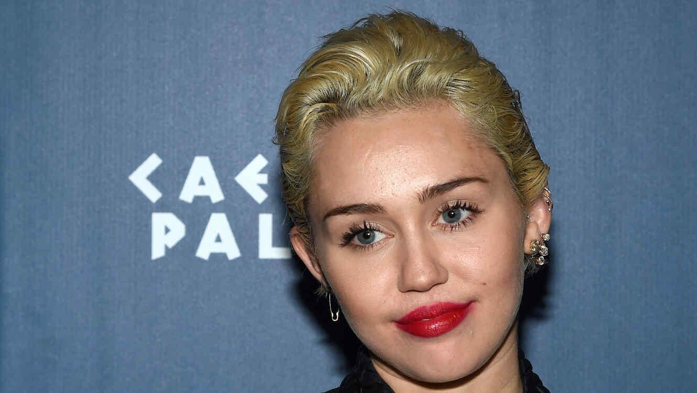 Miley Cyrus en un evento en 2015
