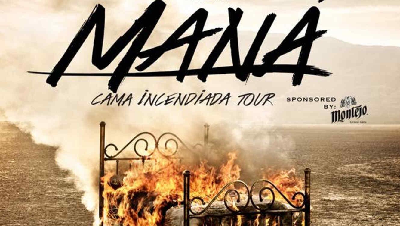 """Mana 'Cama incendiada tour"""""""
