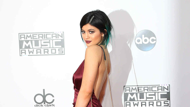 Kylie Jenner en los AMAs 2015.
