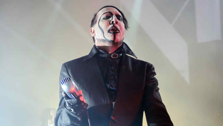 Marilyn Manson en un evento en 2015