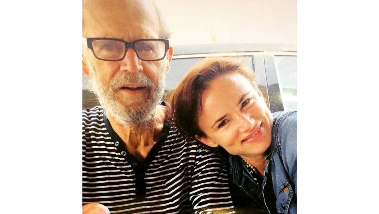 Juliette Lewis y Geoffrey Lewis