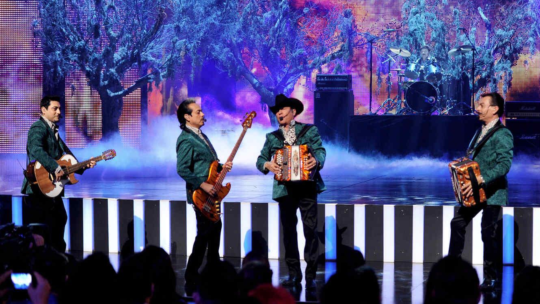 Los Tigres del Norte en los Premios Billboard 2013