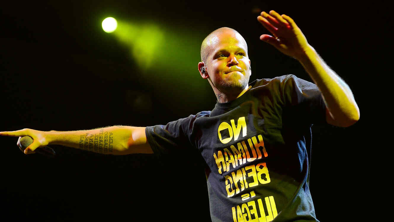 Rene Perez de Calle 13 en una presentació en Brooklyn