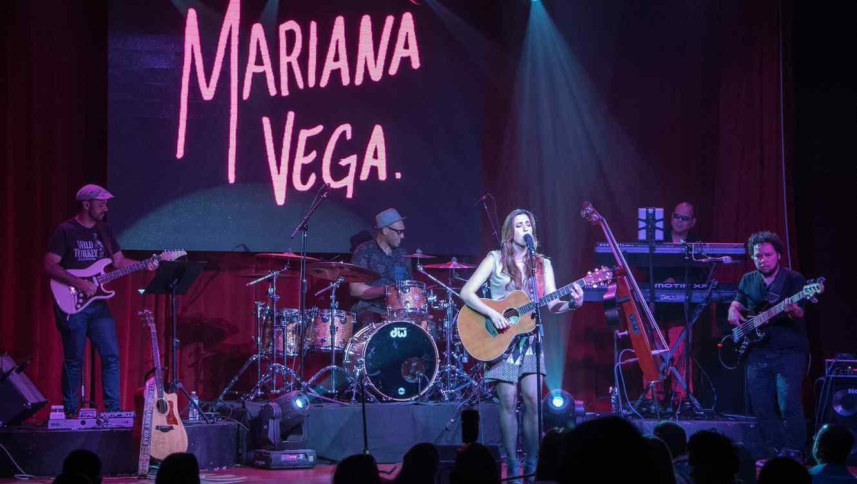 Mariana Vega en concierto en Miami
