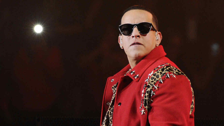 Daddy Yankee en el iHeart Radio Fiesta Latina 2014