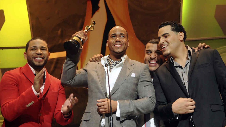 Romeo Santos en los premios Soberano 2010