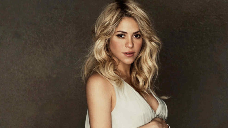 Shakira pregnant Photoshoot