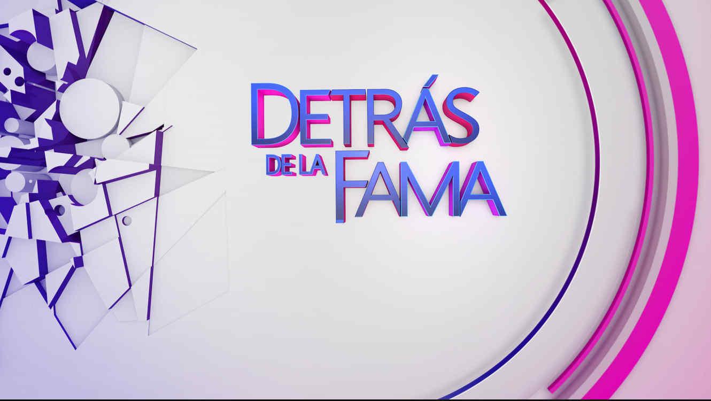 Logo, programa Detrás de la fama