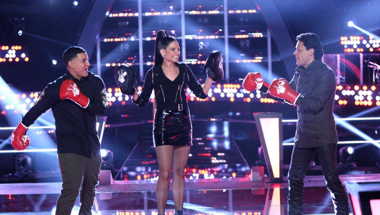 Daddy Yankee, Natalia Jimenez, Pedro Fernandez, Las Batallas en La Voz Kids