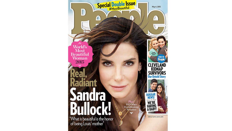 Sandra Bullock en la portada de People