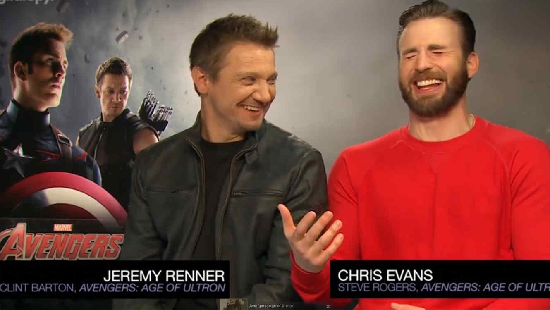 Renner y Evans se disculpan por chiste sobre la Viuda Negra