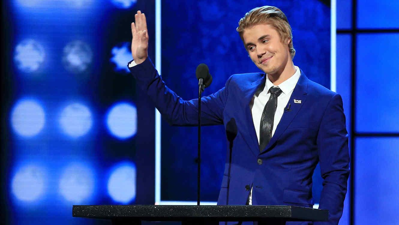 Justin Bieber en el show The Comedy Central Roast Of Justin Bieber