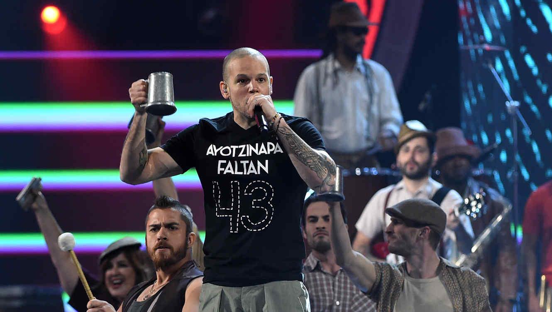 Calle 13 en los Latin Grammy en 2014