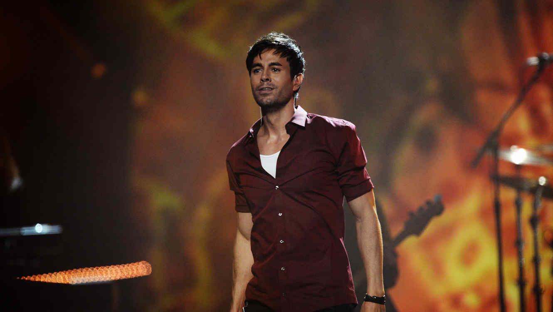 Enrique Iglesias en un evento de MTV en 2014