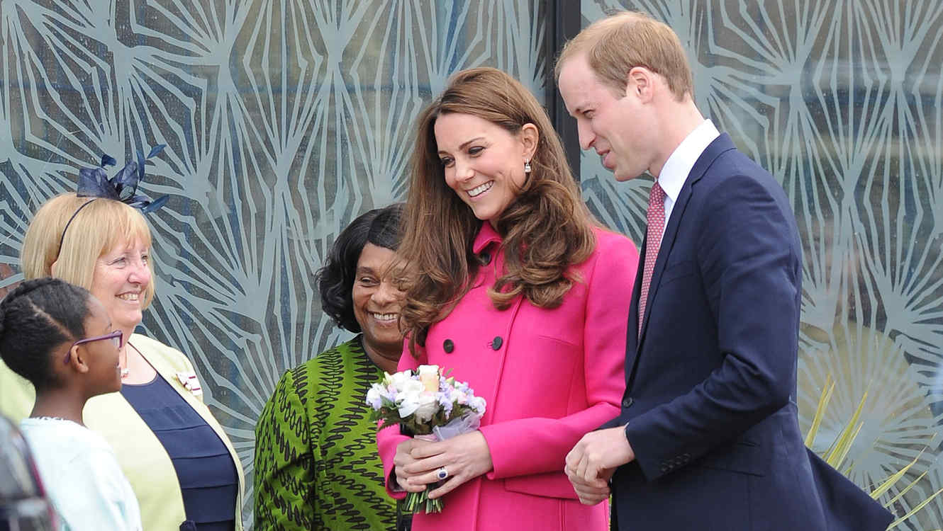 Kate Middleton y el príncipe William fueron al centro Stephen Lawrence en Londres